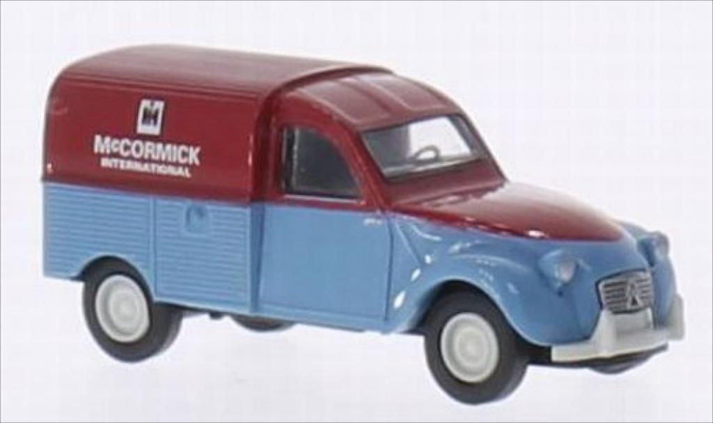 Citroen 2CV 1/87 Brekina AZU McCormick miniature