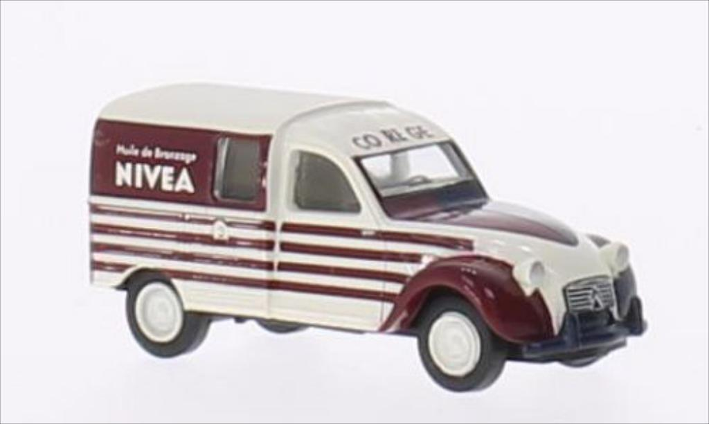 Citroen 2CV 1/87 Brekina AZU Nivea (F) miniature