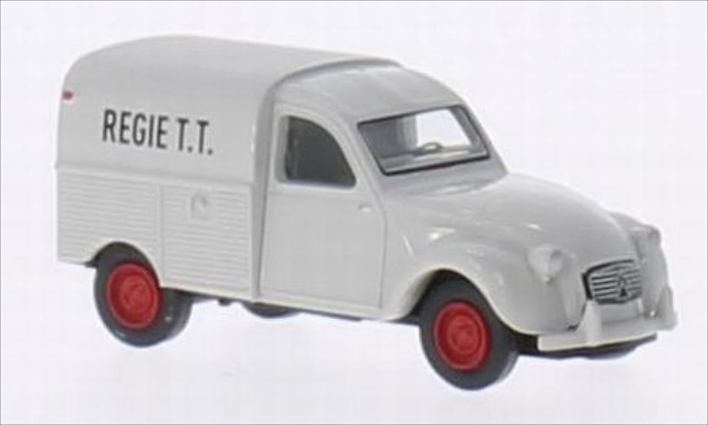 Citroen 2CV 1/87 Brekina AZU Regie T.T. (B) miniature