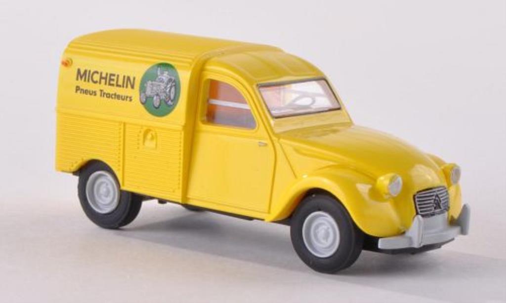 Citroen 2CV 1/87 Brekina Kastenente Michelin Agriculturale (F) diecast