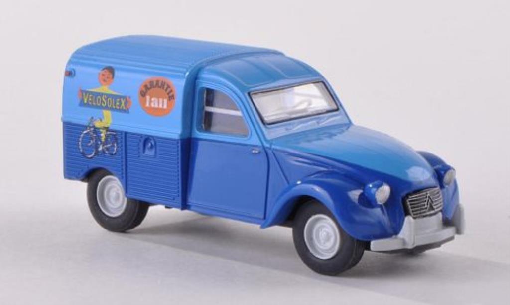 Citroen 2CV 1/87 Brekina Kastenente Velosolex (F) miniature