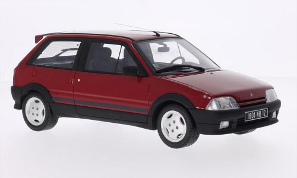 Citroen AX 1/18 Ottomobile GTi rouge 1991 miniature