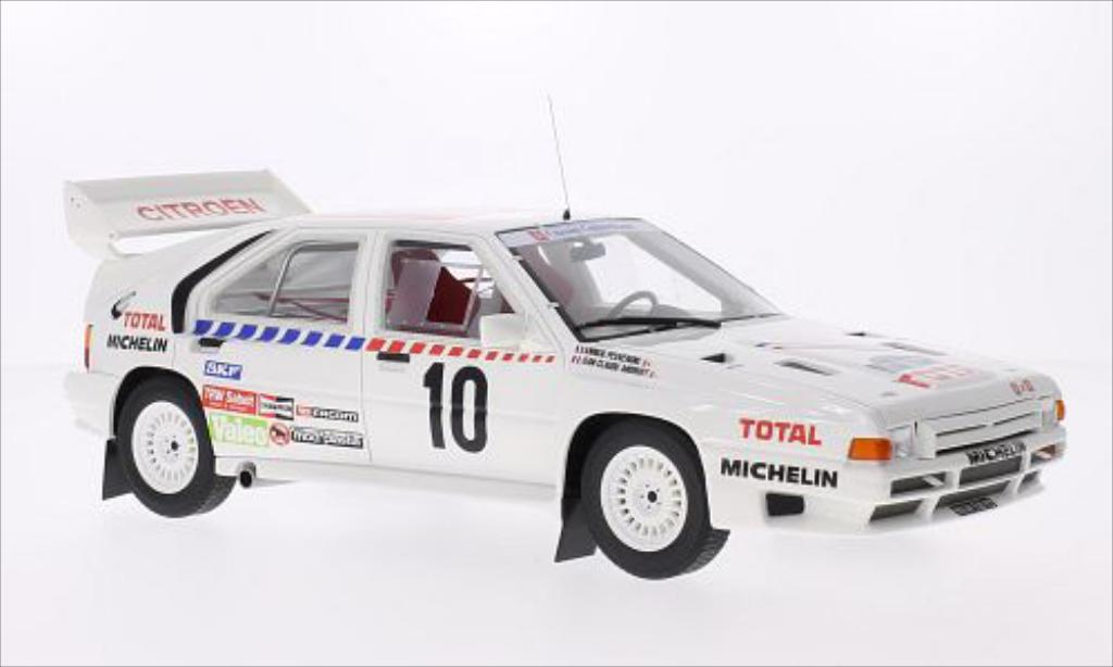 Citroen BX 4TC 1/18 Ottomobile No.10 Rallye Schweden 1986 miniature