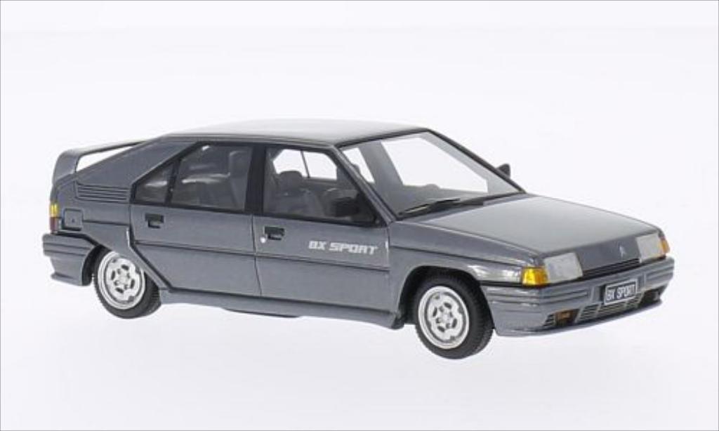 Citroen BX 1/43 Kess Sport metallic-grise 1985 miniature