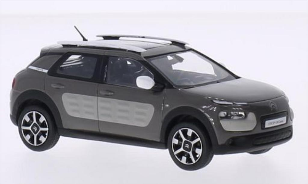 Citroen C4 1/43 Norev Cactus grey 2014 diecast model cars