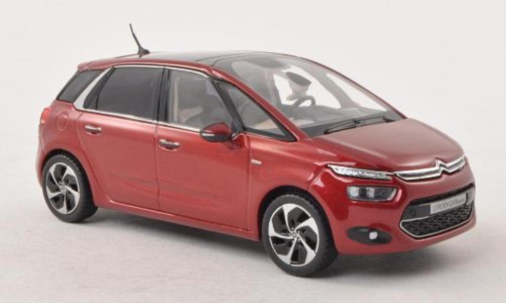 citroen c4 picasso red 2013 norev diecast model car 1 43 buy sell diecast car on. Black Bedroom Furniture Sets. Home Design Ideas