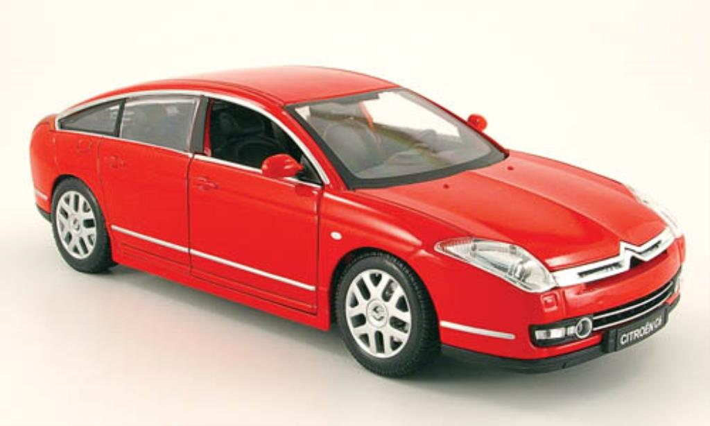 Citroen C6 1/20 Burago red (1:20) diecast model cars