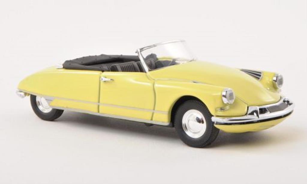Citroen DS 19 1/43 Rio Cabriolet Usine jaune 1961 miniature