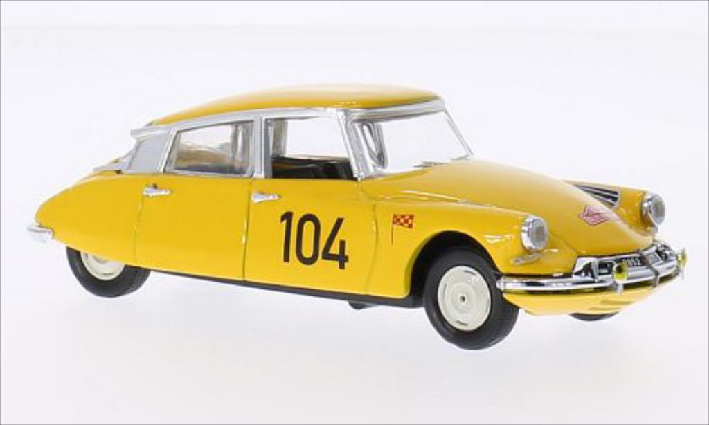 Citroen DS 19 1/43 Rio 19 No.104 Rallye Monte-Carlo 1962 /Courbe miniature