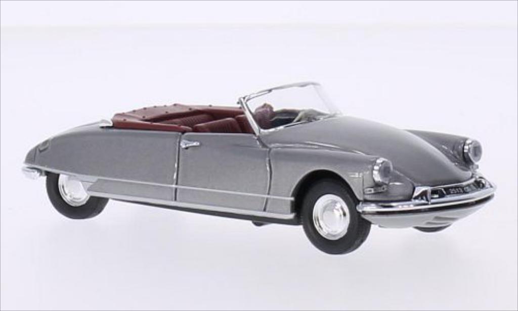 Citroen DS Cabriolet 1/43 Rio metallise grey 1961 diecast model cars