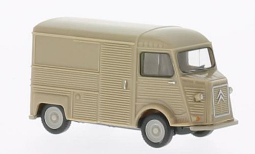 Citroen HY 1/87 Wiking Kastenwagen beige diecast model cars