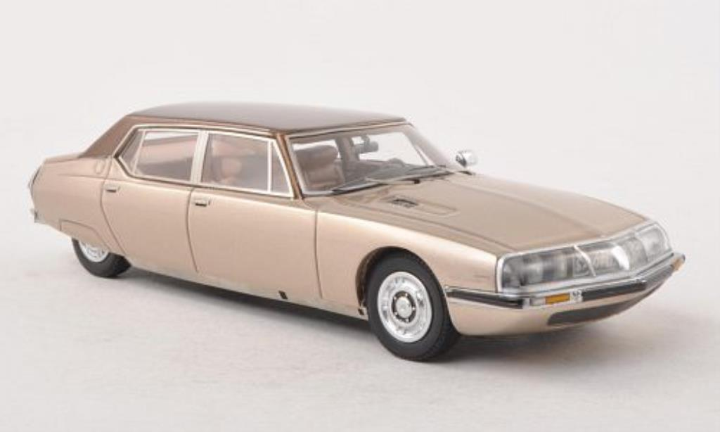 Citroen SM 1/43 Matrix Le Opera Henri Chapron beige/brown diecast model cars