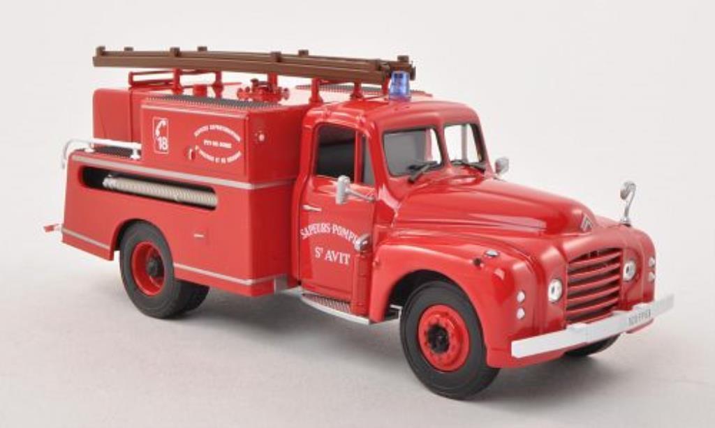 Citroen T46 1/43 Norev Pompe Guinard Sapeurs Pompiers St. Avit Feuerwehr (F) 1962 diecast model cars