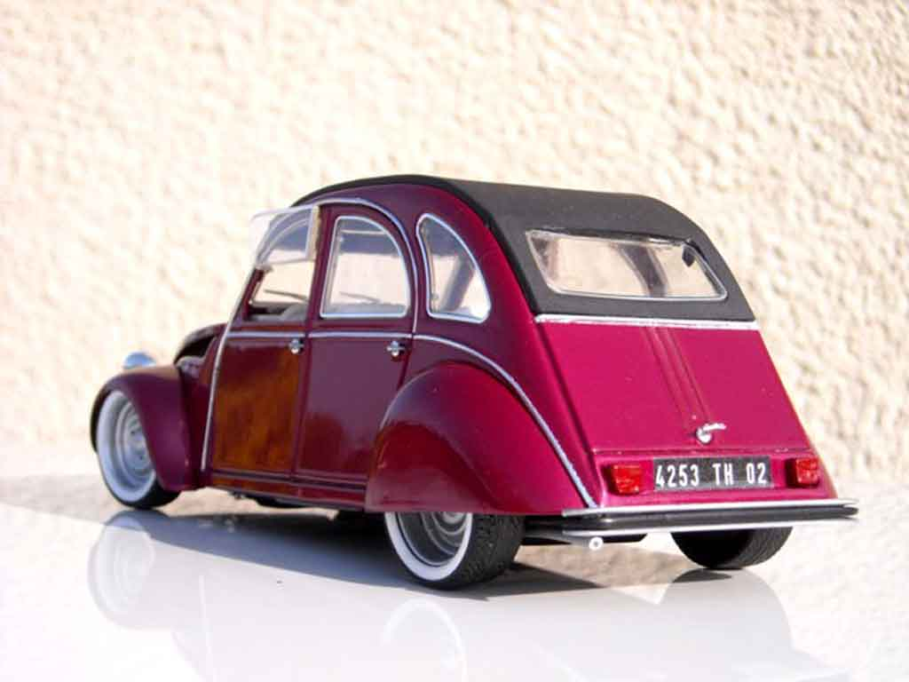 citroen 2cv miniature custom blush effect solido 1  18