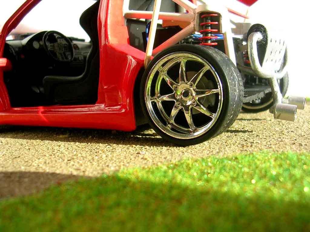Citroen C2 1/18 Solido v6 sbarro 2005 tuning miniature
