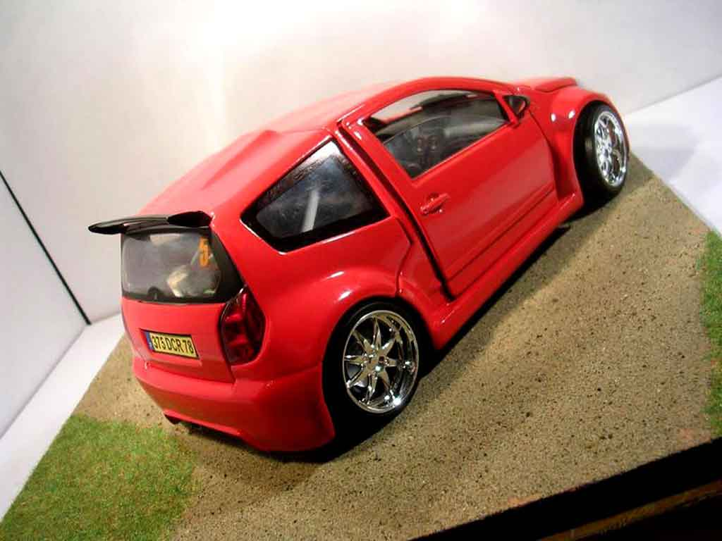 Citroen C2 1/18 Solido v6 sbarro 2005