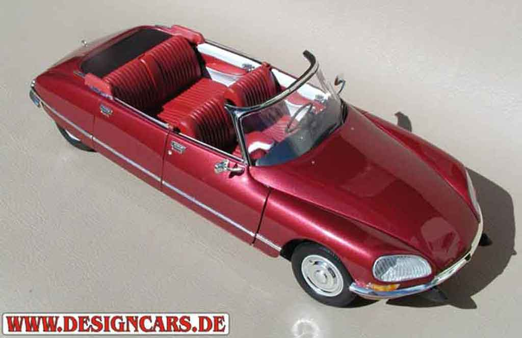 citroen ds 21 convertible 4 portes red lucifer norev diecast model car 1 18 buy sell diecast. Black Bedroom Furniture Sets. Home Design Ideas
