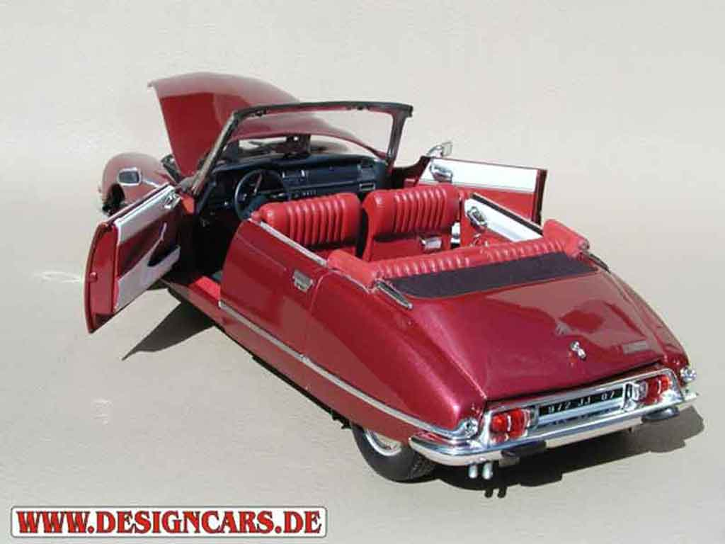citroen ds 21 cabriolet 4 portes rojo lucifer norev coches miniaturas 1 18 comprar venta. Black Bedroom Furniture Sets. Home Design Ideas