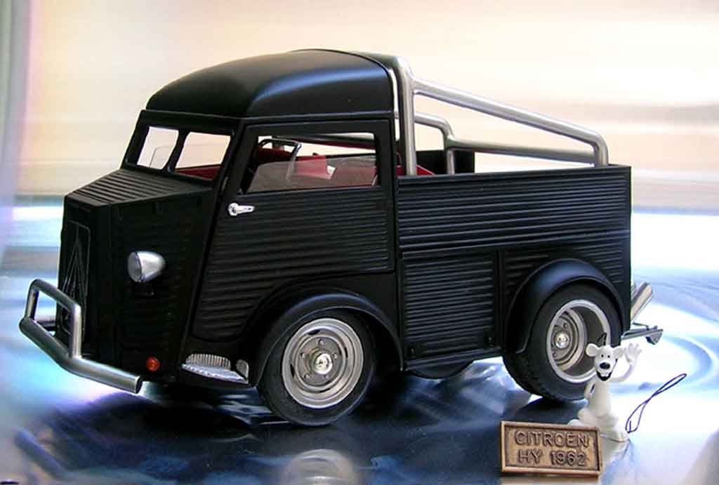 Citroen HY 1/18 Solido 1952 tuning miniature