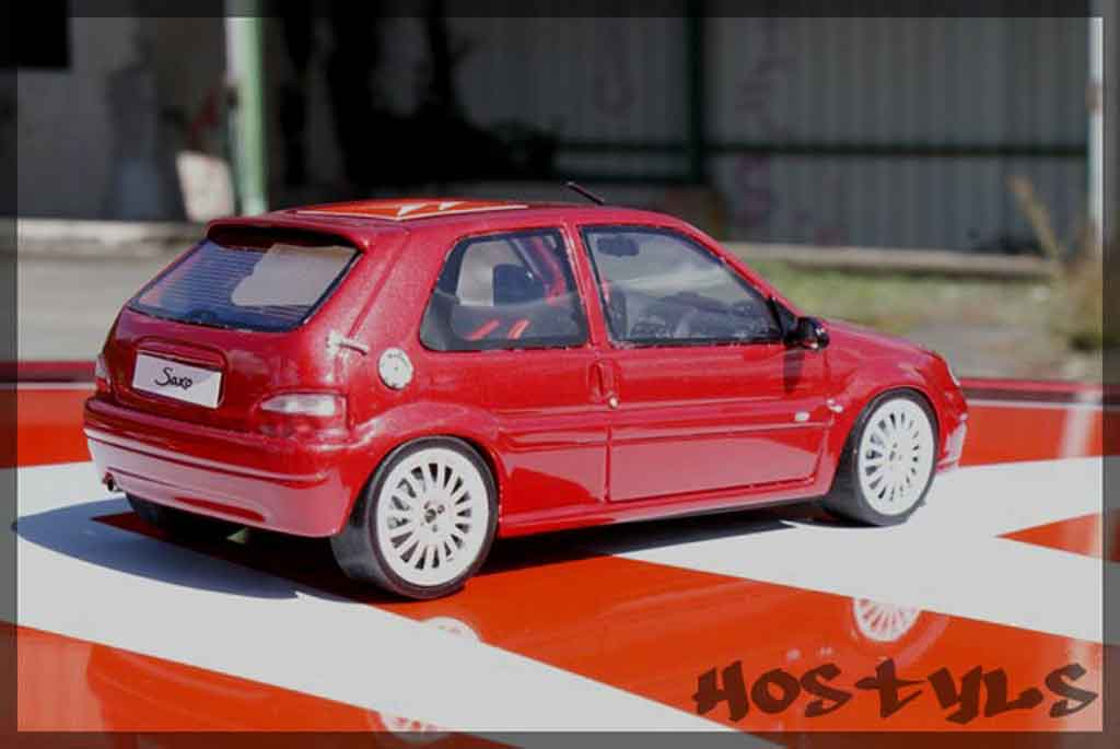 Citroen Saxo 1/18 Ottomobile vts preparation groupe n