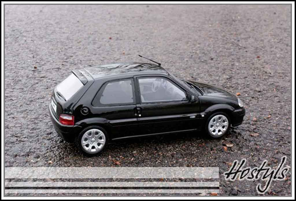 Citroen Saxo 1/18 Ottomobile vts black