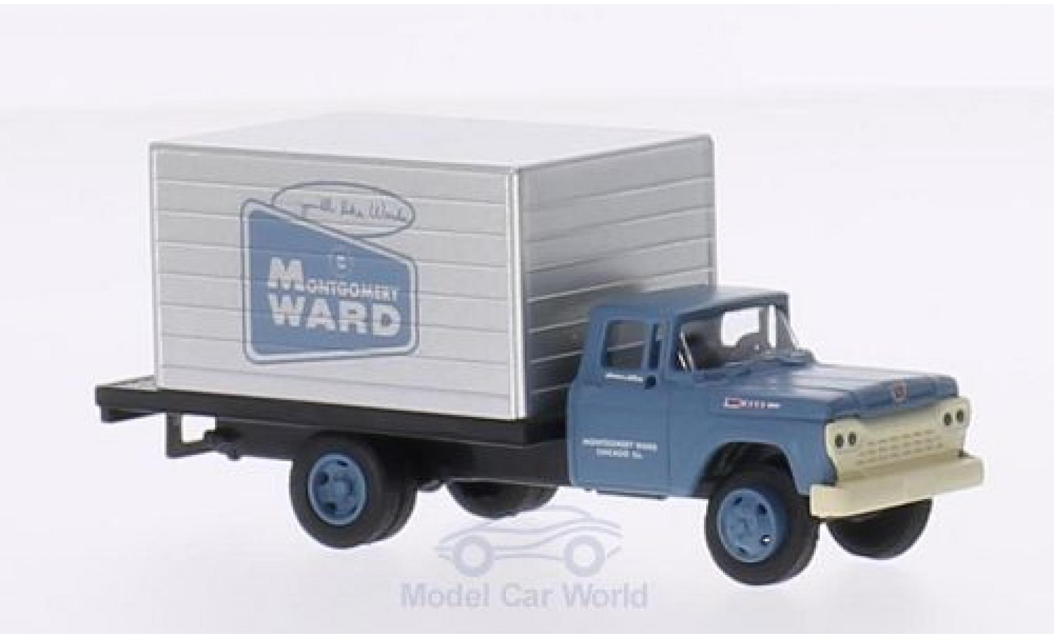 Ford Delivery 1/87 Classic Metal Works Truck Montgomery Ward 1960 Koffer-LKW