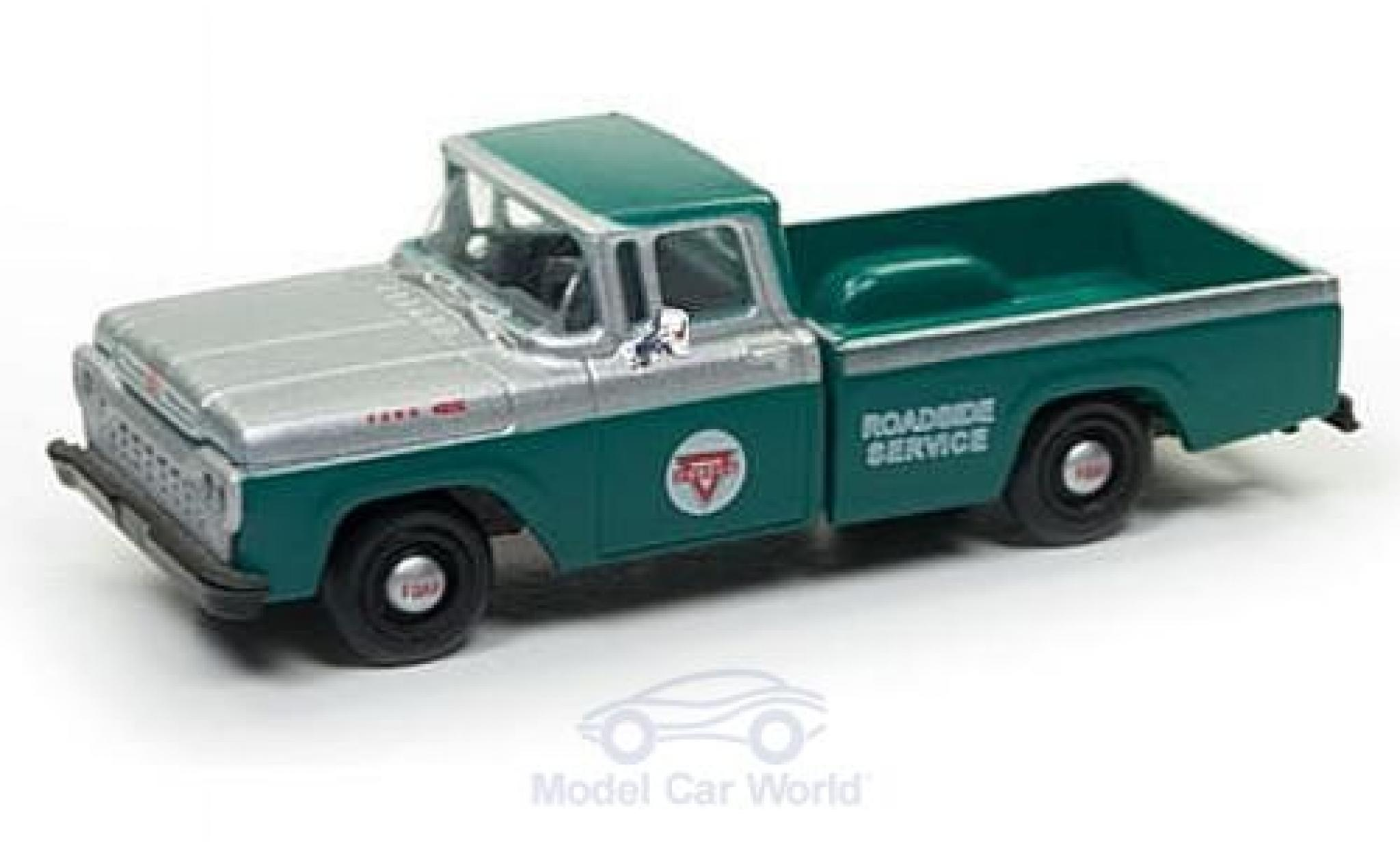 Ford F-1 1/87 Classic Metal Works 00 Pick Up verte/grise Conoco Service 1960