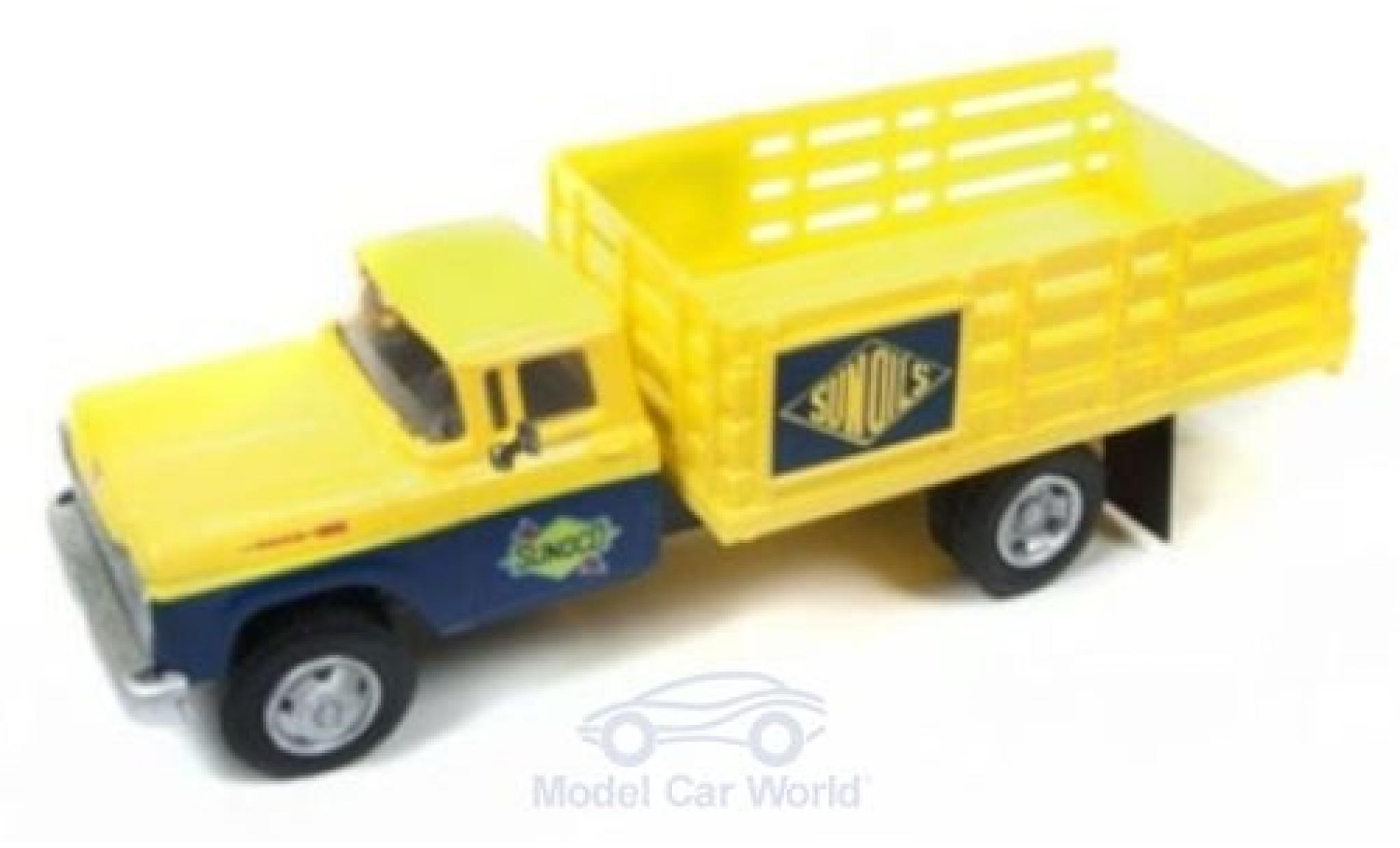Ford Stake Bed Truck 1/87 Classic Metal Works Sunoco - Sun Oils 1960