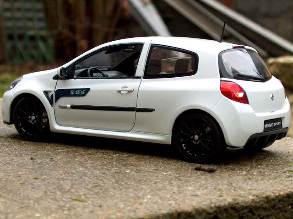 Renault Clio 3 Rs Miniature Wsr Solido 1 18 Voiture