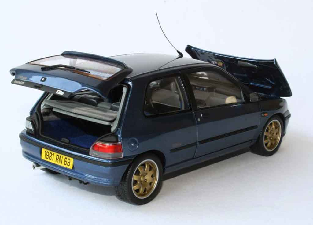 renault clio williams miniature norev 1 18 voiture. Black Bedroom Furniture Sets. Home Design Ideas