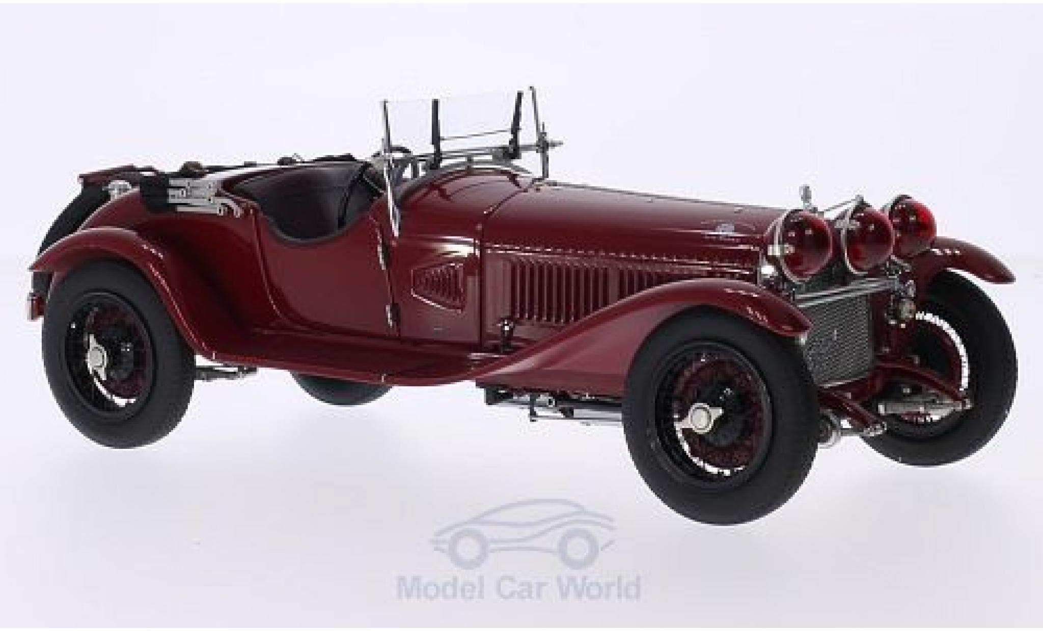 Alfa Romeo 6C 1/18 CMC 1750 Gran Sport rouge RHD 1930