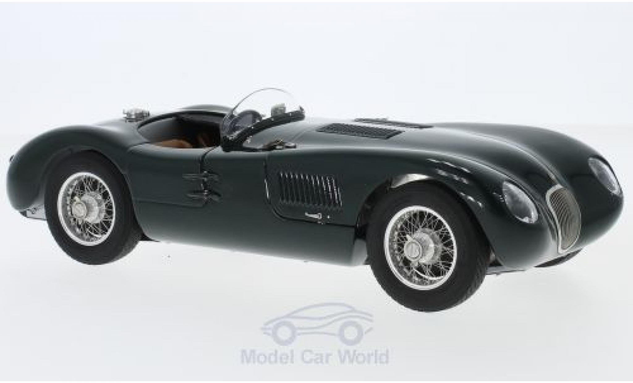 Jaguar C-Type 1/18 CMC verte RHD 1952