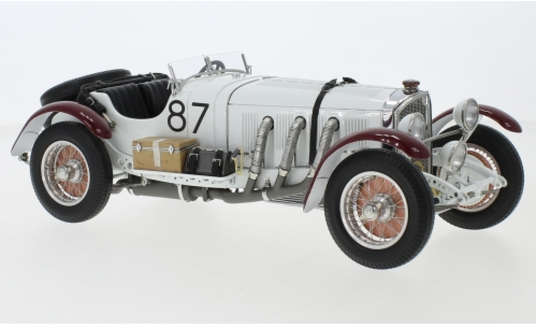 Mercedes SSK 1/18 CMC L No.87 Mille Miglia 1931 R.Caracciola