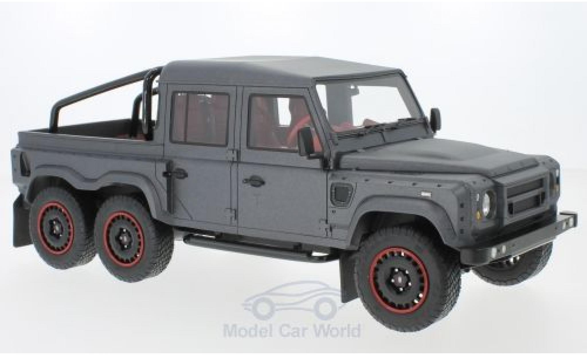 Contemporary Manufacture Cmf 1 18 2015 Land Rover Defender Flying Huntsman 6x6 Rhd Cmf18115 Pick Up Toys Hobbies