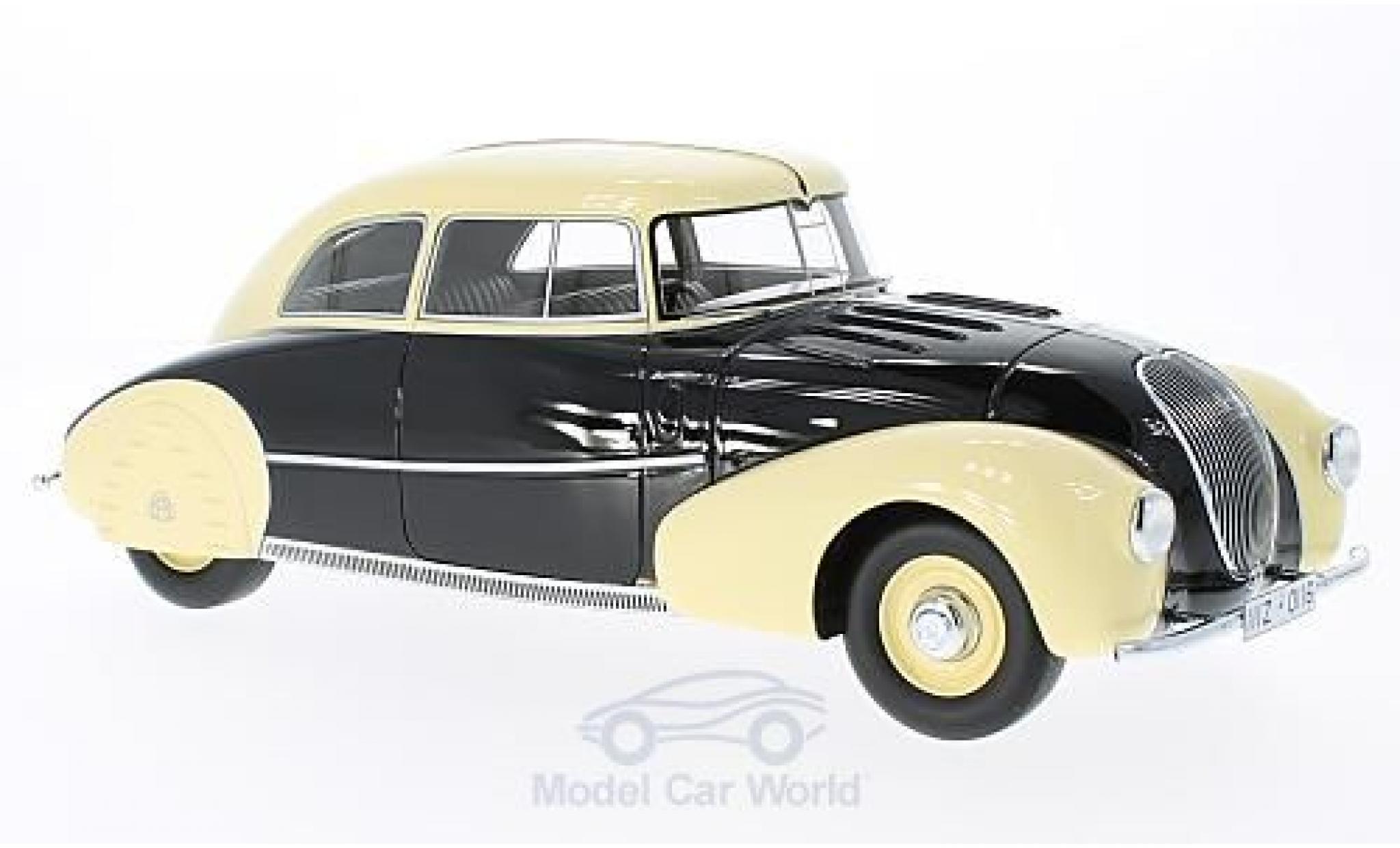 Maybach SW 1/18 CMF 35 Stromlinie Spohn noire/beige 1935