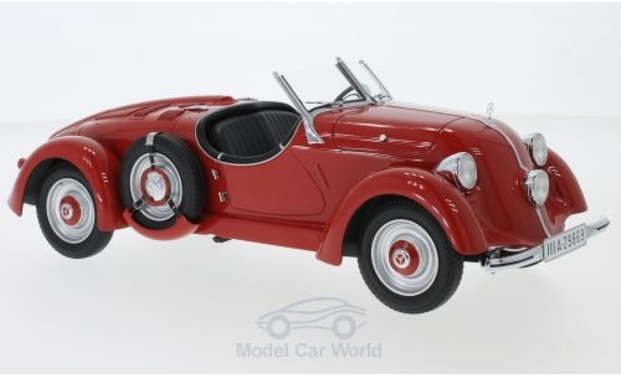 Mercedes 150 1/18 CMF (W 30) Sport-Roadster rouge 1935