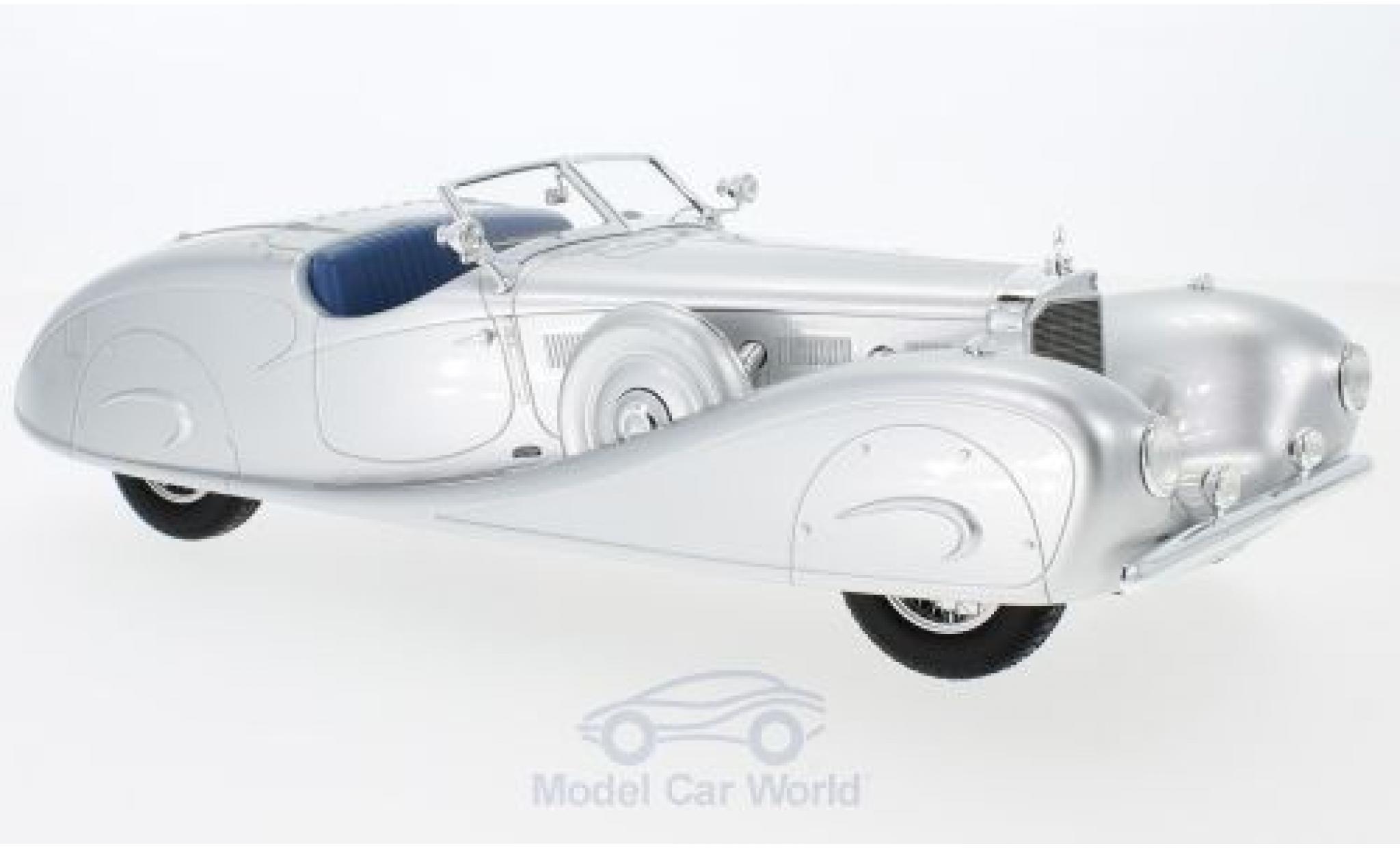 Mercedes 500 K 1/18 CMF Erdmann & Rossi grise 1936