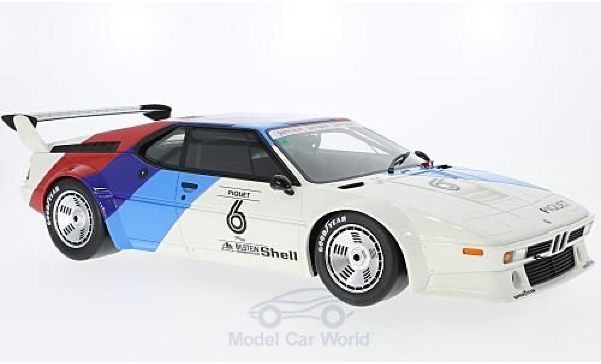Bmw M1 1979 1/12 CMR Procar No.6 Procar mit Decals N.Piquet