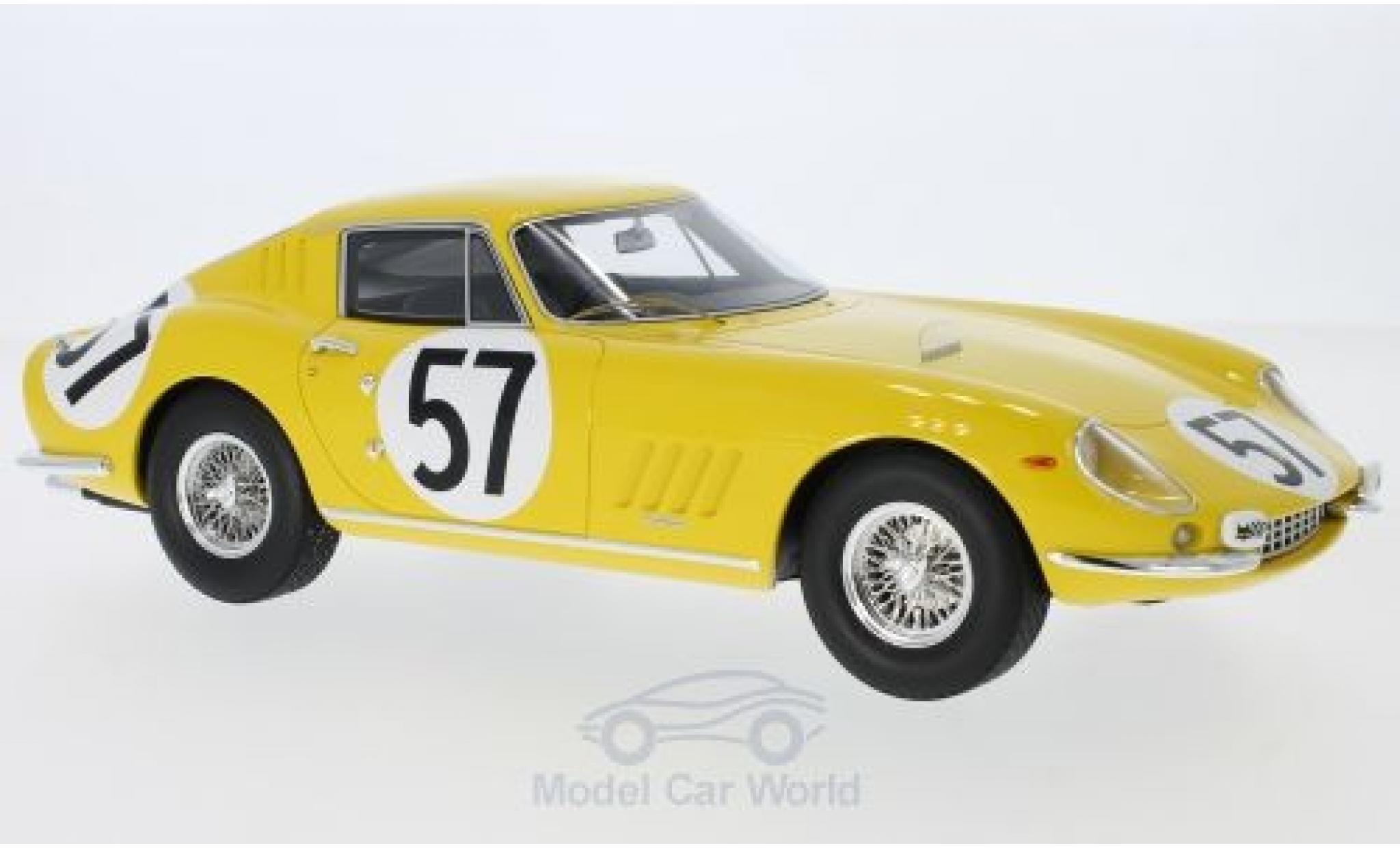Ferrari 275 1966 1/18 CMR GTB No.57 24h Le Mans P.Noblet/C.Dubois