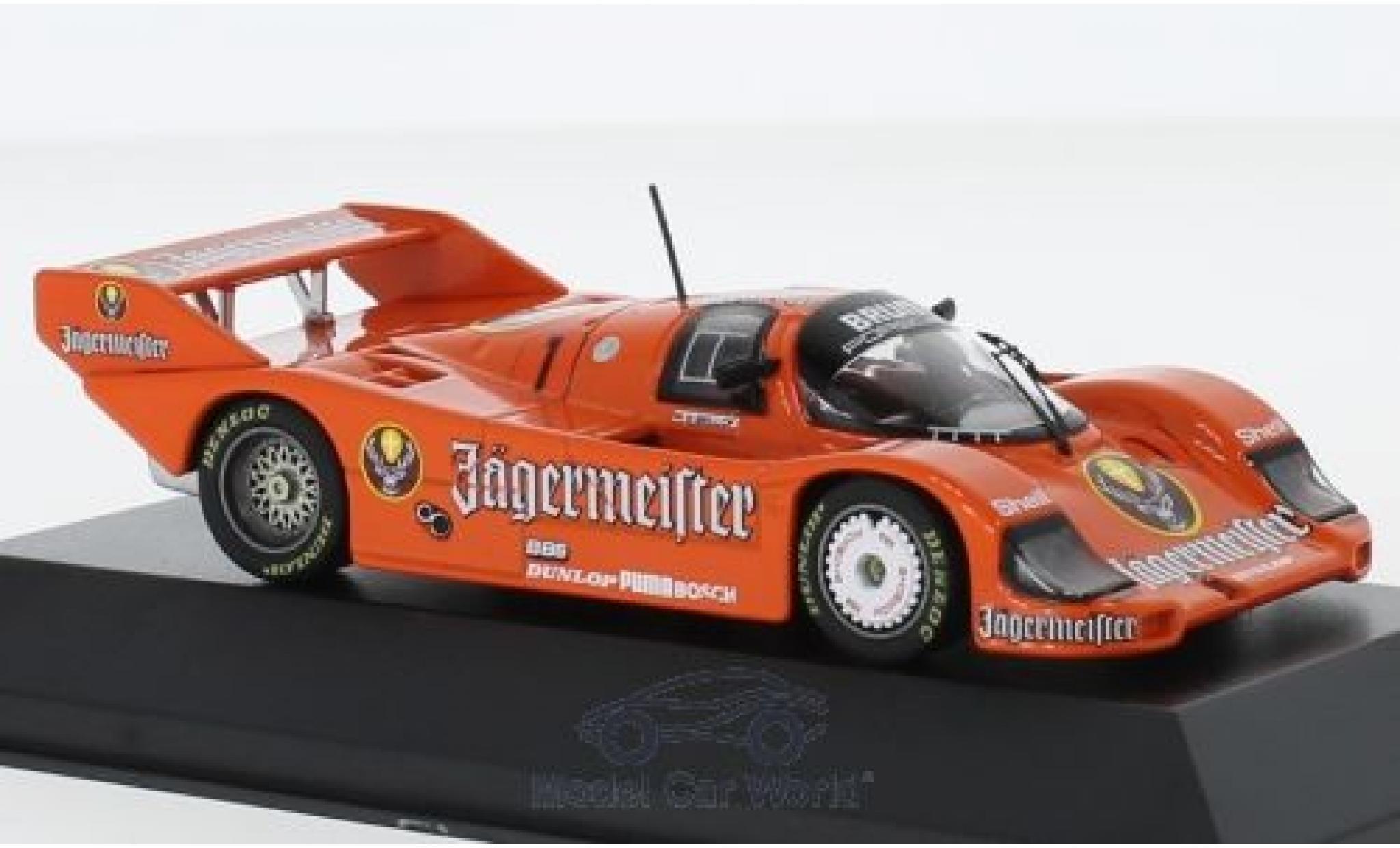 Porsche 956 1984 1/43 CMR B No.1 Brun Jägermeister 200 Meilen Norisring S.Bellof