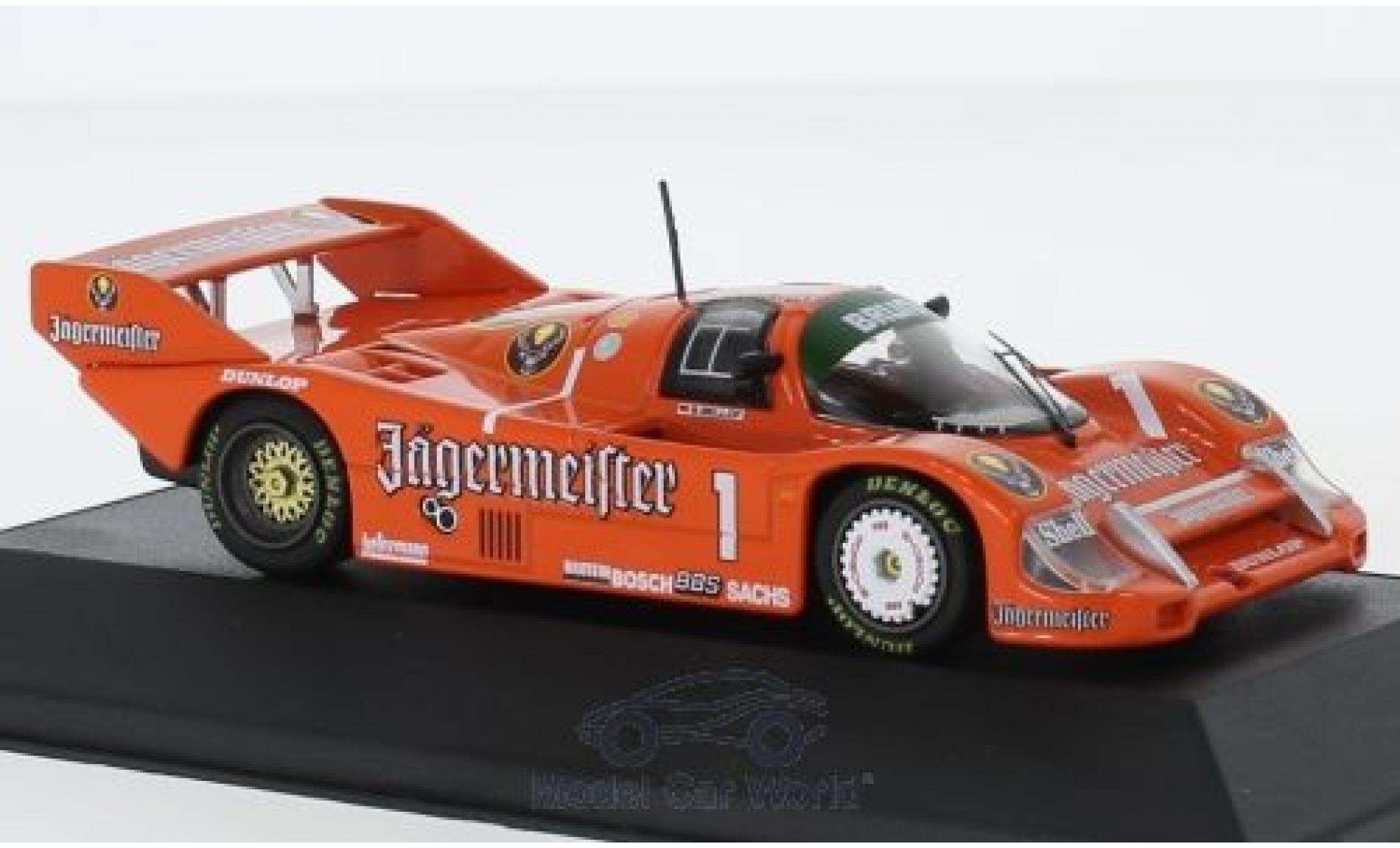 Porsche 956 1985 1/43 CMR B No.1 Jägermeister 200 Meilen Norisring S.Bellof