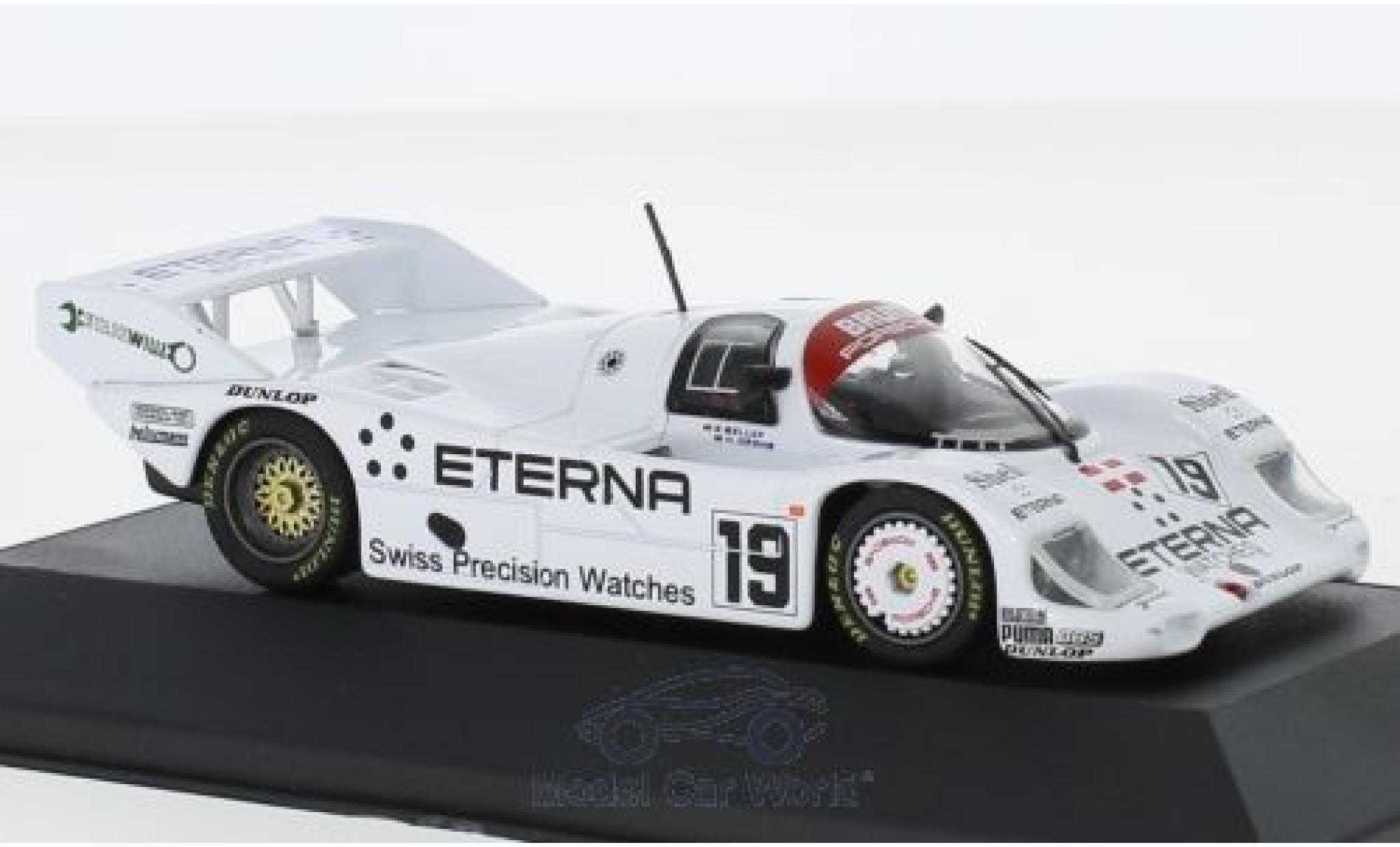 Porsche 956 1984 1/43 CMR K No.19 Brun Eterna 1000 Km Brands Hatch S.Bellof/H.Grohs