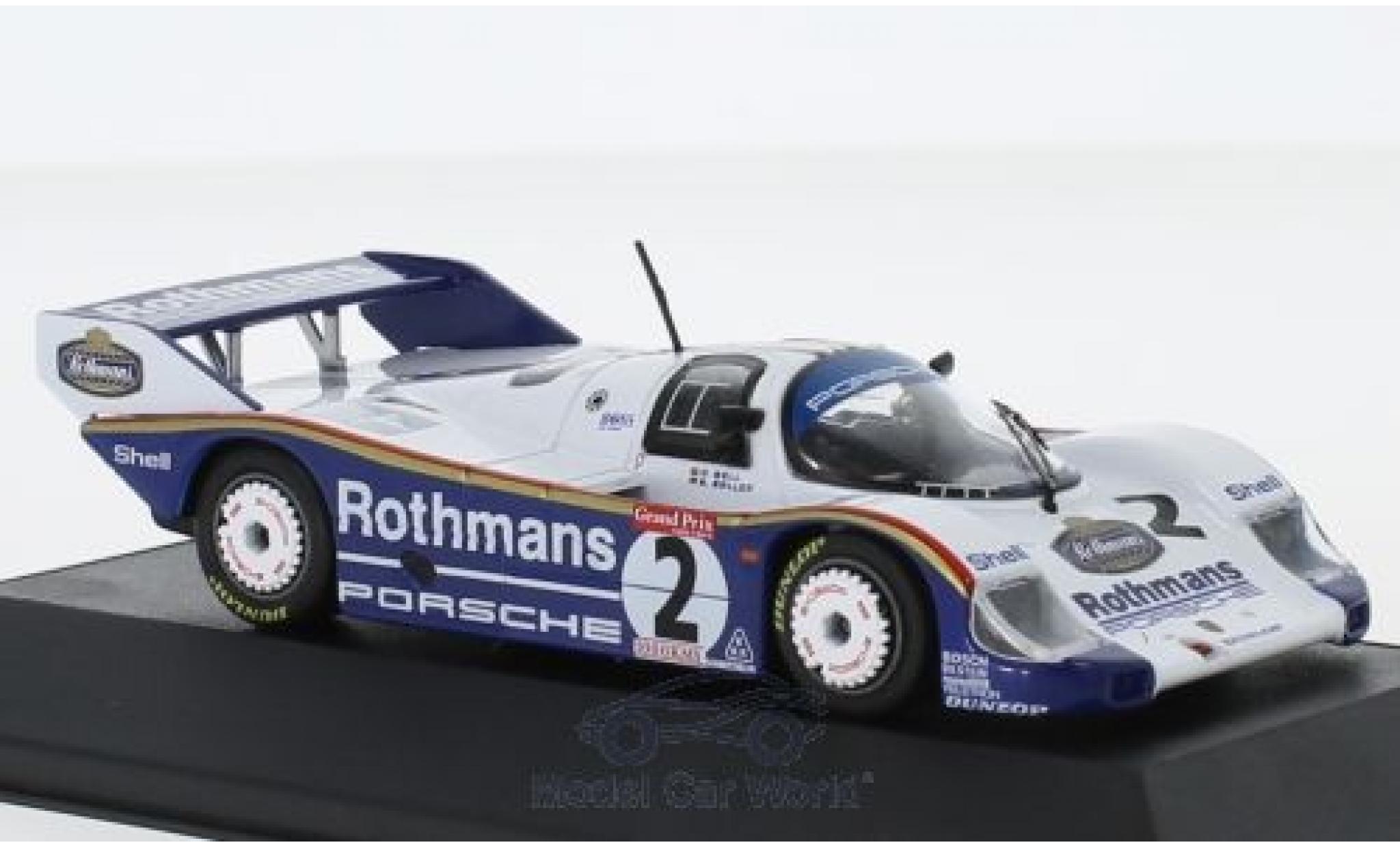 Porsche 956 1983 1/43 CMR K No.2 Rothmans 1000 Km Brands Hatch S.Bellof/D.Bell