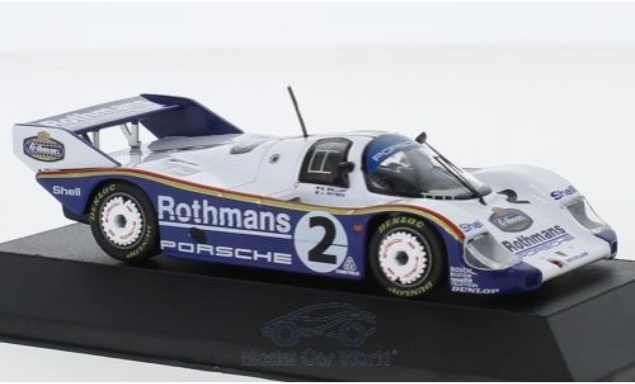 Porsche 956 1984 1/43 CMR K No.2 Rothmans 1000 Km Fuji S.Bellof/J.Watson