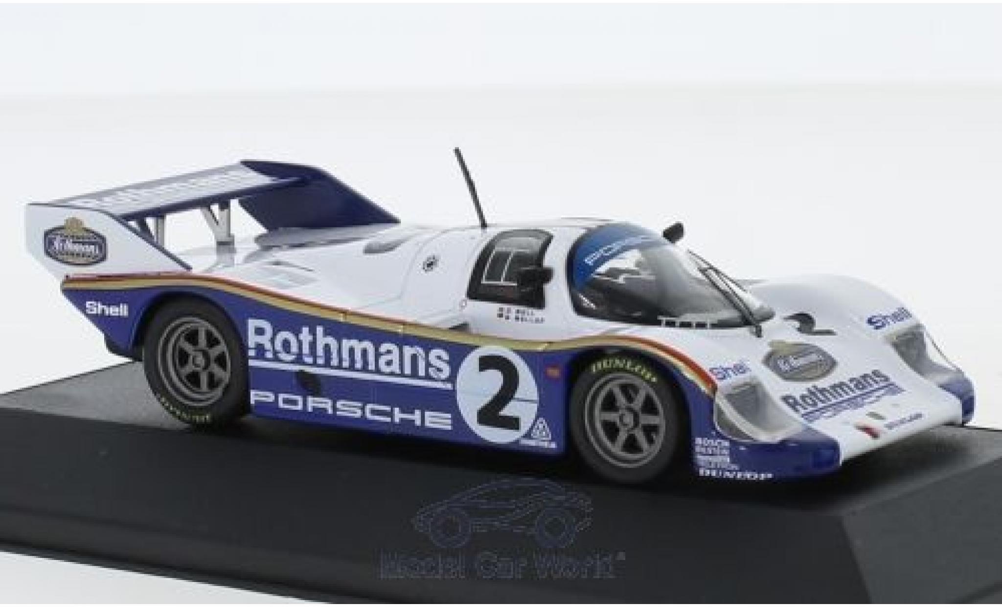 Porsche 956 1984 1/43 CMR K No.2 Rothmans 1000 Km Sandown Park S.Bellof/D.Bell