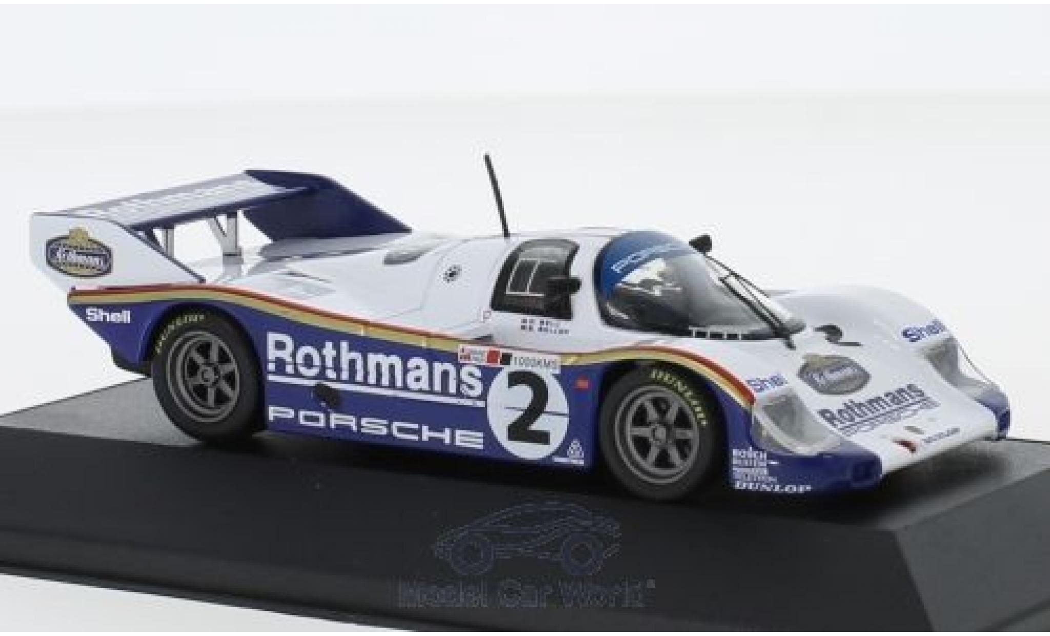 Porsche 956 1984 1/43 CMR K No.2 Rothmans 1000 KM Silverstone S.Bellof/D.Bell