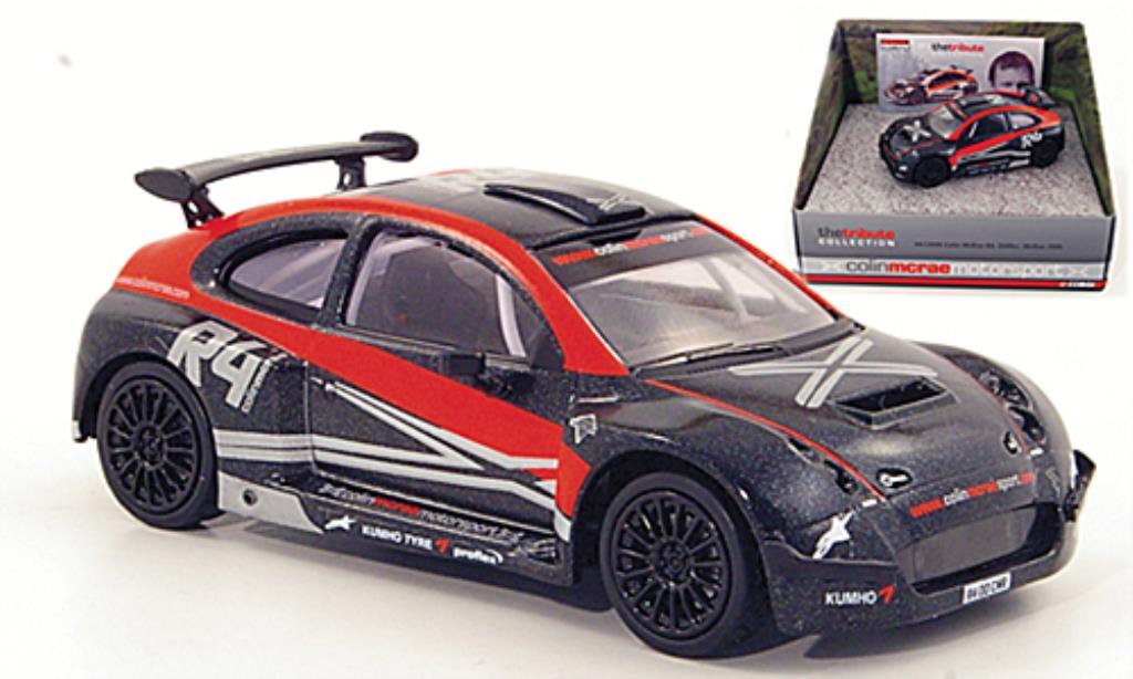 Colin McRae R4 1/43 Vanguards noire/rouge 2006 miniature