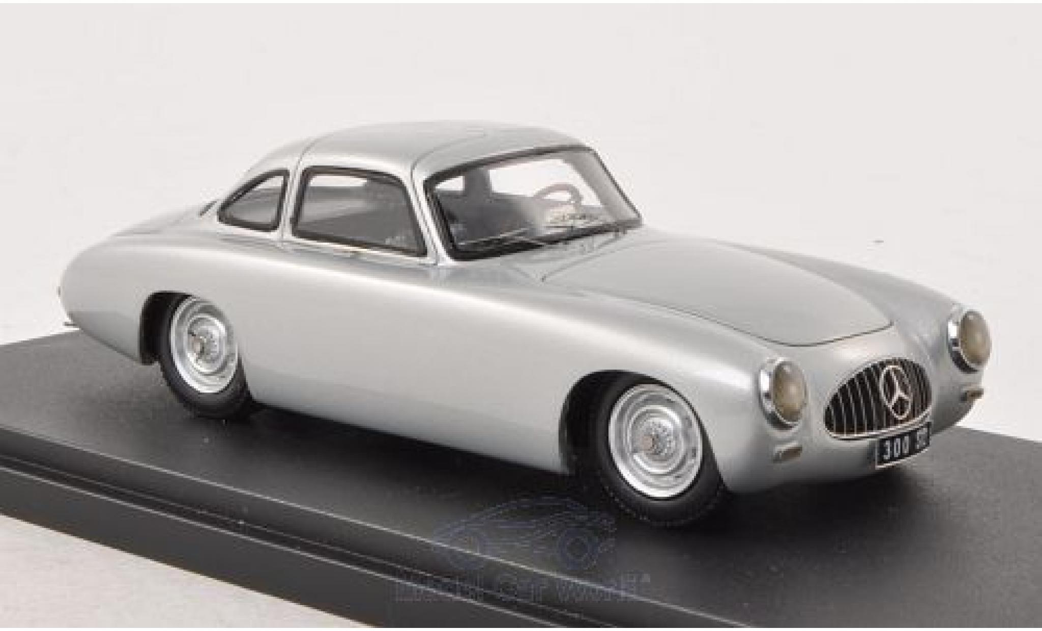 Mercedes 300 SL 1/43 Contact Präsentation grise 1952