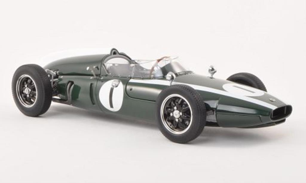 Cooper T53 1/18 Schuco Climax No.1 GP Grossbritannien 1960 miniature