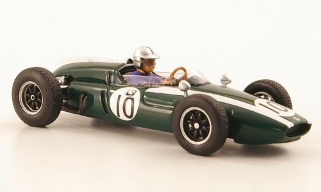 Cooper T53 1/43 Spark No.10 GP Monaco 1960 miniature